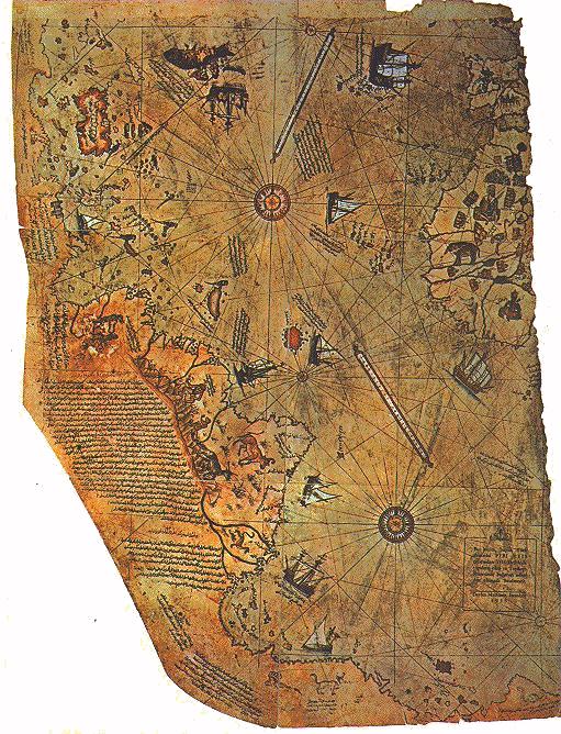 Mapa Pirija Rajsa Piri_reis_